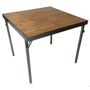 Cafe Table Stainless Steel