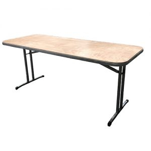 1.8m by .75m trestle table