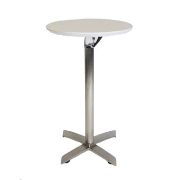 Bar Table with White Top