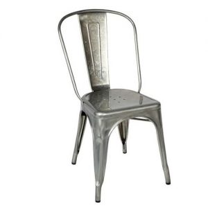 Single metal chair tolix style
