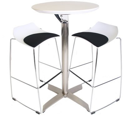table- bar white and chairs 400p(1)
