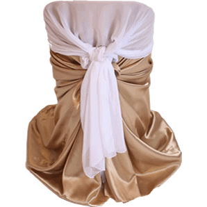 Chair Cover With Wrap