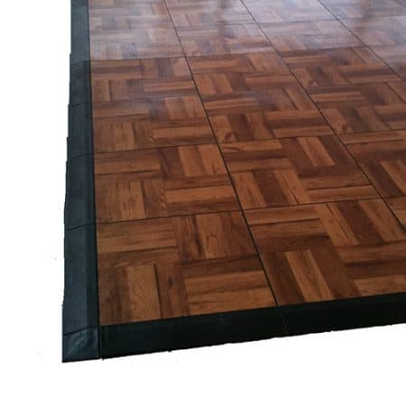 Wooden dance floor
