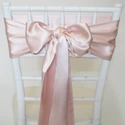 Dusty Pink Satin Sash