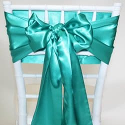 Emerald Satin Sash