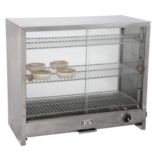 Glass front pie oven