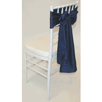 Tiffany Chair with Navy Sash