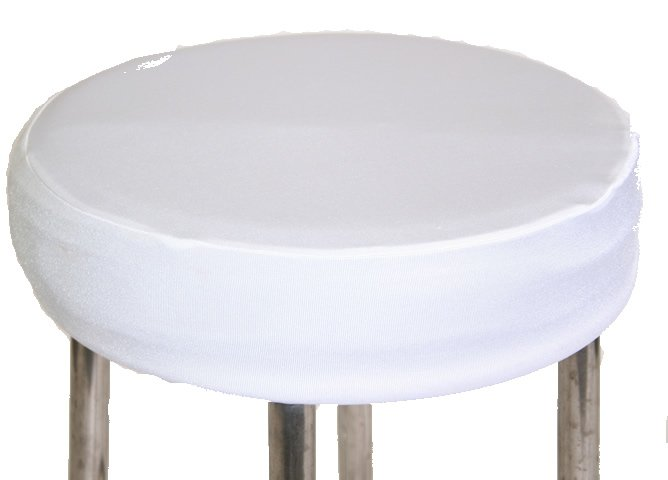 White Padded Stool Cover Walkers Hire : bar stool white close up from www.walkershire.com.au size 668 x 480 jpeg 22kB