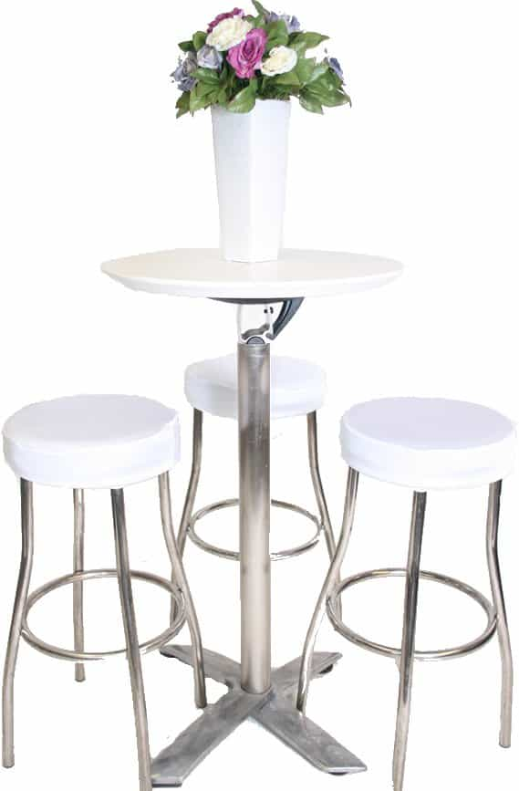 White Padded Stool Cover : bar stool white with bar from www.walkershire.com.au size 569 x 867 jpeg 46kB