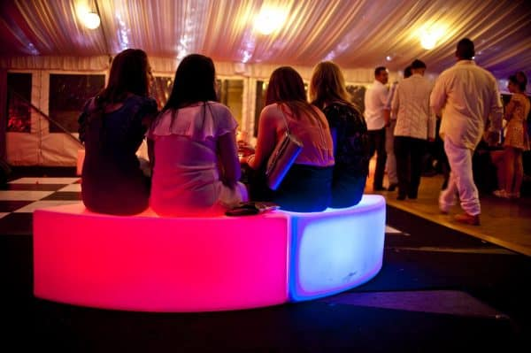 glow benches red &blue(3)