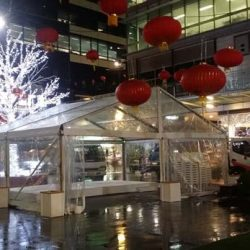 Marquee Hired for World Square event
