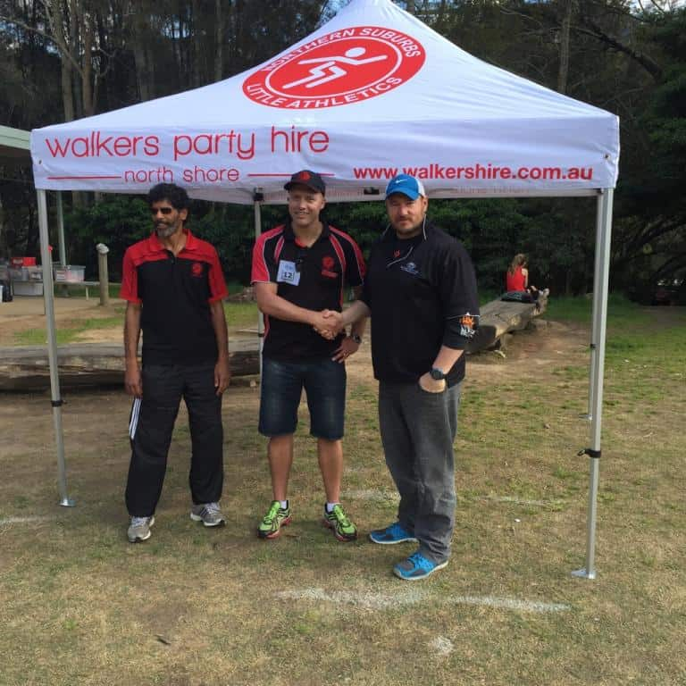 Walkers Marquee donation to little A