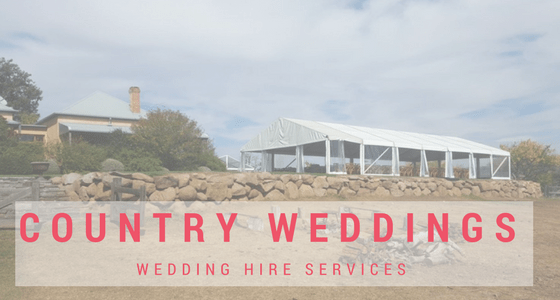 Coontry Weddng Hire
