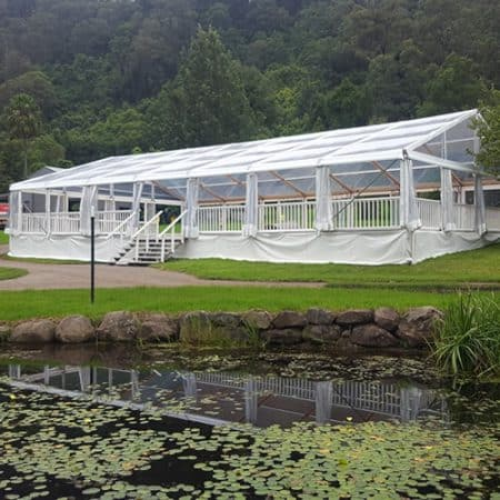 12m wide Marquees