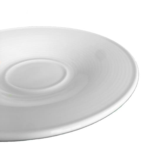 Aura Collection White Saucer Plate