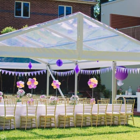 6m wide Marquees